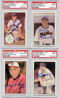 1983 Big League Lou Boudreau AUTO PSA DNA Indians