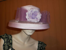 WOMEN'S LILAC HAT FOR THE RACES