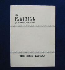 TENNESSEE WILLIAMS The Rose Tattoo MAUREEN STAPLEDON