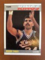 1987 Fleer Reggie Theus Card #105 MINT - Sac Kings
