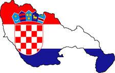 "Auto Aufkleber ""Vir"" Kroatien Croatia 11cm Decal Vinyl Sticker! konturg."