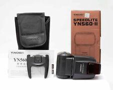 Yongnuo Speedlite - YN560 II Blitz für Canon und Nikon mit Tasche mit OVP Nr.612