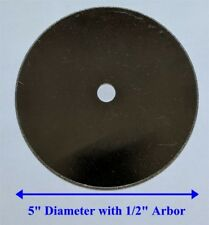 """5"""" Inland Thin Diamond Blade for Cutting Glass, Ceramic, Tile with 1/2"""" Arbor"""