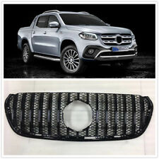 Front GT Grille Upper Grill For Mercedes Benz X-Class 2018+ Black DN