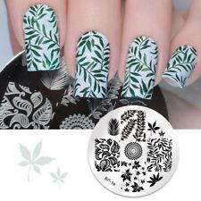 Nail Art Stamping Schablonen Stempel Template Image Plate BORN PRETTY BP19