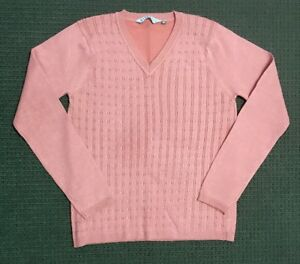 Rivers Knitted Pattern Jumper - Size Small - Excellent Condition