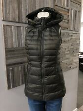 Lululemon Down For It Vest Dark Olive Size 4 NWOT