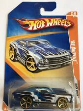 Hot Wheels '69 Chevelle Track Stars Blue Scale 1:64 New