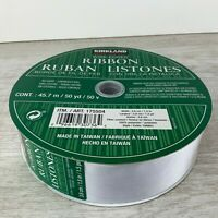 """50yds of Black White Zebra 1//2/"""" wide Cotton Curling Ribbon Natural Eco-Friendly"""