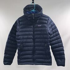 Patagonia Down Sweater Hoody Jacket Navy Blue Extra Small (Men's)