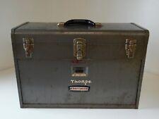 Vintage Craftsman 7 Drawer Machinest Mechanic Tool Box Chest Old Crown Logo USA