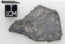 Eucrite Meteorite 6.14g, Full Slice with crust, certified HED by XRF analysis