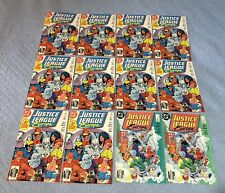 JUSTICE LEAGUE EUROPE MEGA LOT -70 books (VF/NM - NM- 1989) issues #1-7
