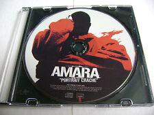 Amara - Portrait Crache CD Rap Francais / Disque Seulement - Disc Only