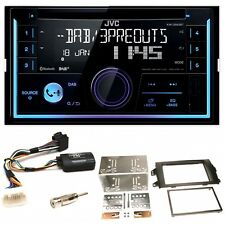 JVC KW-DB93BT USB MP3 CD Bluetooth DAB+ Einbauset für Suzuki SX4 Fiat Sedici