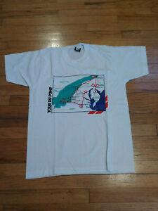 Tour Du Pont Map T-Shirt New: Size Large