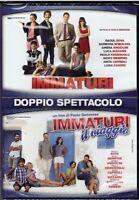 2 Dvd Box Collection IMMATURI + IMMATURI IL VIAGGIO con Bova Memphis Angiolini
