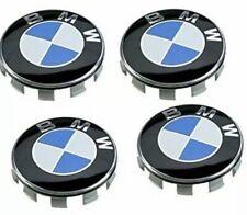 4 X BMW Wheel Centre Caps 68mm Fits  1  3 5 6 7 8 M series