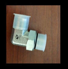 "HYDRAULIC FITTING  1"" Male / Male NPT 90 DEGREE ELBOW with o'ring Bobcat"