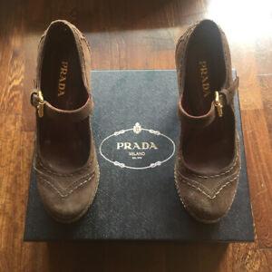 Scarpe Mary Jane Prada