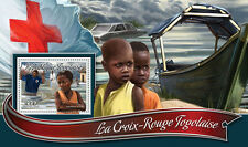 Togo 2016 MNH Red Cross 1v S/S Cholera Medical Health Stamps
