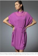 Shanghai Tang QiPao Cheongsam Pink Dress size M UK 10-12