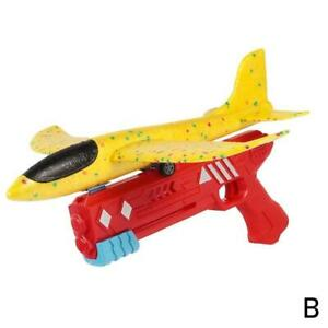 Airplane Launcher Toy, Catapult Plane Gun Outside Flying Launcher Toy Gifts