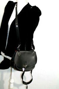Dooney & Bourke Handbag Leather black color Tote fendi strap women's