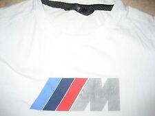 Original BMW M-Shirt T-Shirt weiss Gr. L Herren Fanshirt M-Style Motorsport DTM