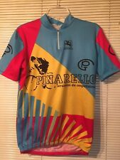 PINARELLO Cycling Jersey Giordana Blue Yellow Red 43 Chest