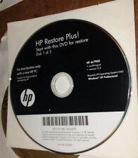 HP Compaq DC7900 Restore Plus XP Operating System Reinstall CD 481206-B29 disk 1