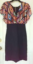 Nicole Miller NWOT Womens Size 6 Dress Southwest Print