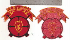 "#203 25TH DIVISION SNIPER PATCH ""TROPIC LIGHTNING"""