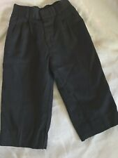 Nordstrom Boys Black Dress Pants Pleated Usa 4 5 Church Easter Weddings Dinners
