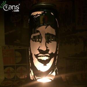 Alan Partridge Beer Can Lantern! Steve Coogan Pop Art Portrait Lamp, Unique Gift