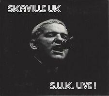 SKAVILLE UK - S.U.K. LIVE! - (brand new unused cd in slip case) - JJCD005
