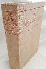 Ion Idriess, The Desert Column, 1932 Genuine FIRSTEdition, Good Condition