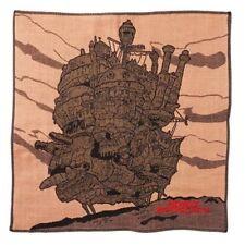 Howl's Moving Castle gauze handkerchief Castle Calcifer Studio Ghibli Japan