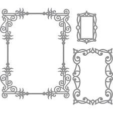 Spellbinders Nestabilities Die ~ A2 SWIRLS FRAME ~ S5-307