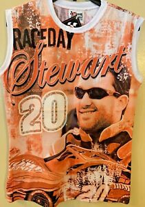 NASCAR #20 Women's RACEDAY Stewart, Chase Authentic SIZE S NEW & FREE SHIPPING!!