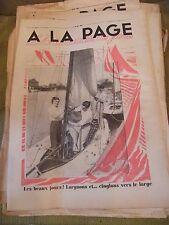 A la page N°162 Avril 1933 Bateau