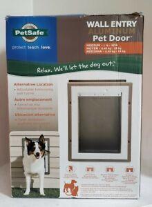Petsafe Medium Aluminum Wall Entry Pet Door - Telescoping Tunnel - PPA11-10916