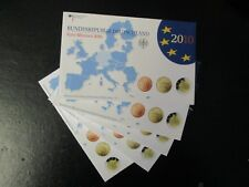 Germania BRD Euro KMS 2010 Roland Brema a-j ADFGJ completamente in blister PP