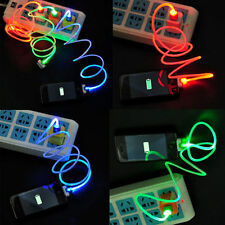 CAVO IPHONE LUMINOSO   4-4S  3 3GS 30 PIN IPOD TOUCH IPAD  USB COLORATO