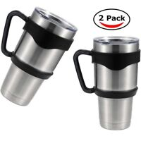 2x Handle for 30 Oz RTIC YETI Rambler Tumbler coffee cup travel Drinkware holder