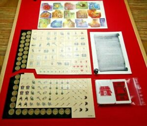 Legend of Zagor Board Game Set of Base Cards Dice Counters Tiles Manual Lot