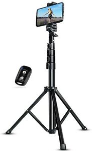 """51"""" Extendable Tripod Stand with Bluetooth Remote for iPhone & Android Phone"""