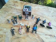 Lot de 15 figurines Tintin . Vintage