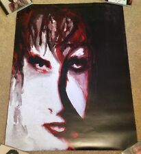 The Cure Robert Smith Bloodfowers Goth Post Punk Drawing Art Poster