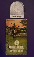 Vintage Louis L'Amour Western Paperback Rivers West *ShipDeals* Build-A-Lot